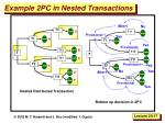 example 2pc in nested transactions