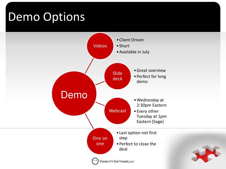 Demo Options