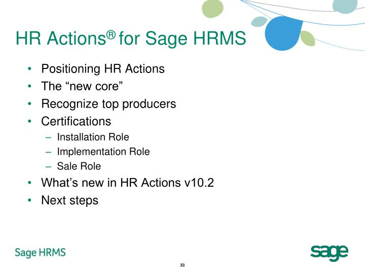 HR Actions