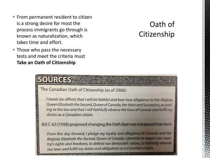 From permanent resident to citizen is a strong desire for most the process immigrants go through is known as naturalization, which takes time and effort.