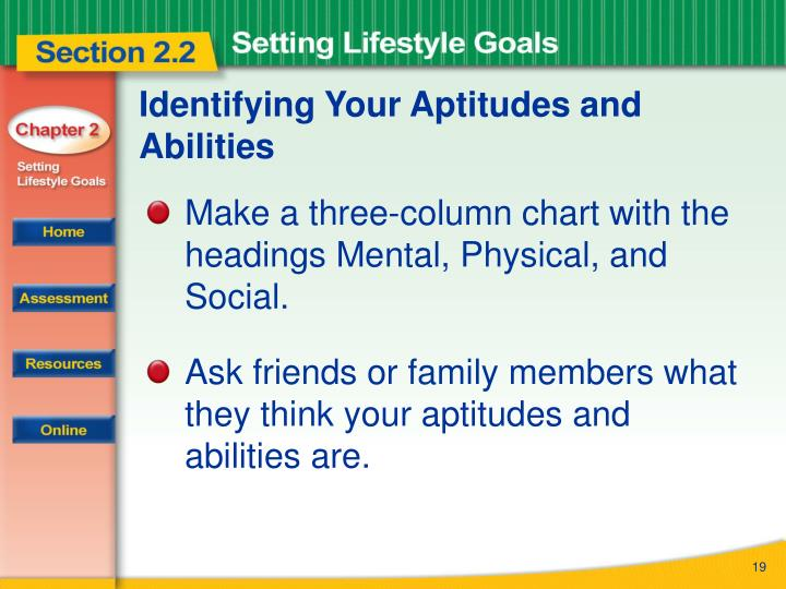 Identifying Your Aptitudes and Abilities