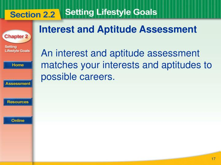 Interest and Aptitude Assessment