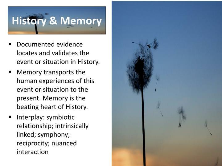 History & Memory