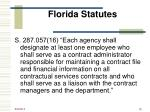 florida statutes1