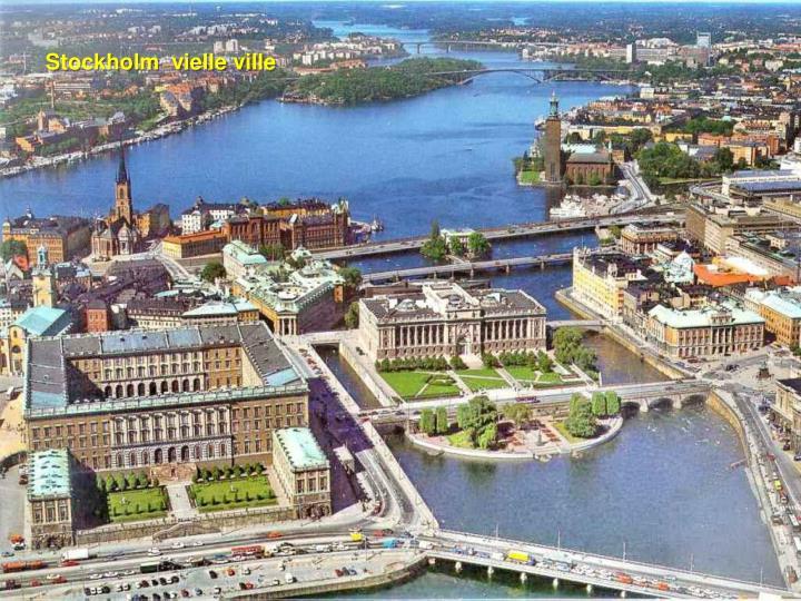 Stockholm  vielle ville