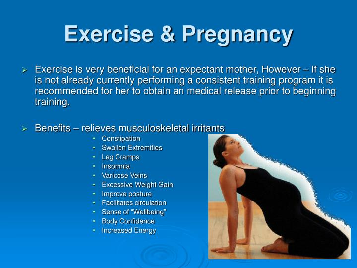 Exercise pregnancy1