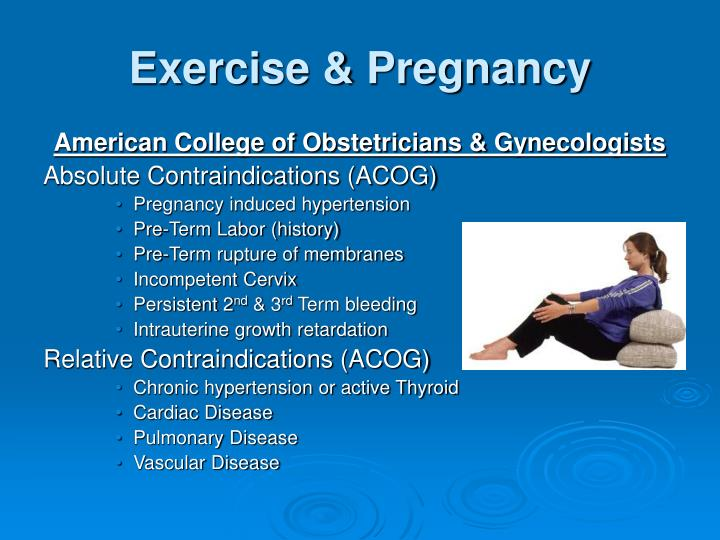 Exercise & Pregnancy