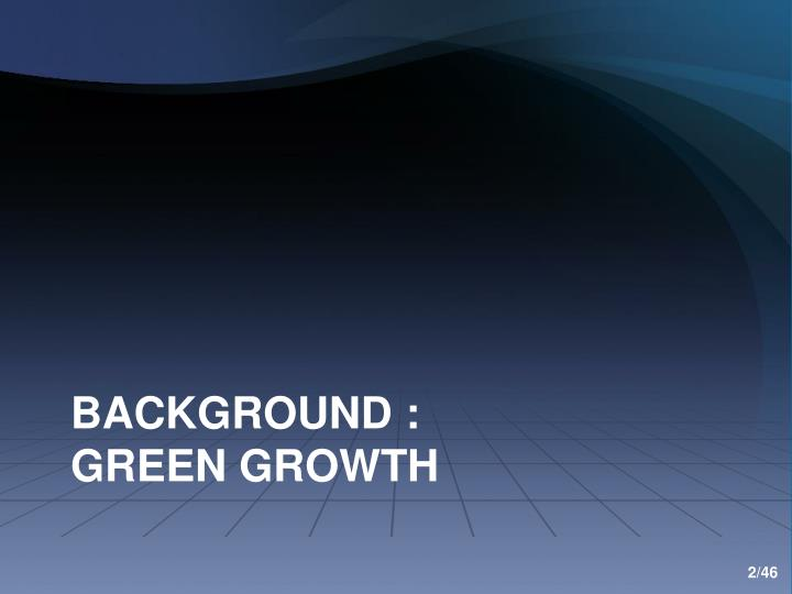 Background green growth