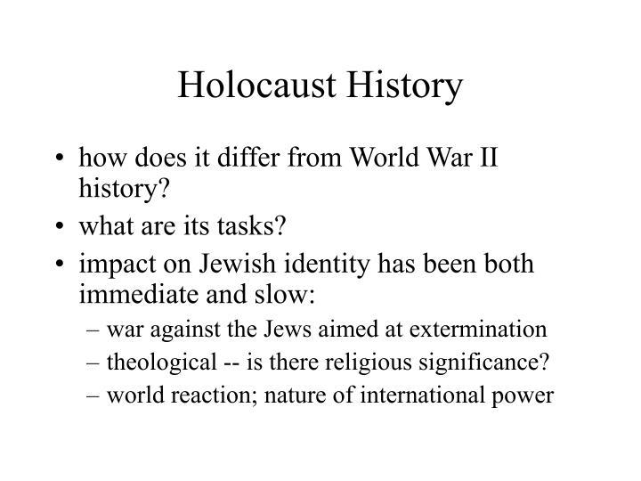 Holocaust History