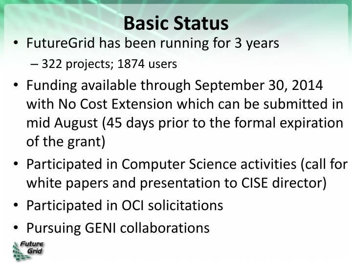 Basic Status
