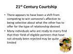 21 st century courtship1