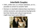 interfaith couples