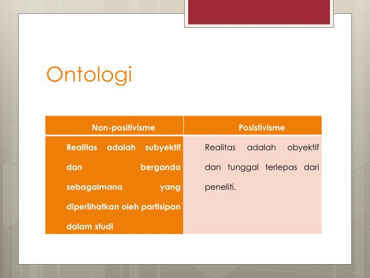 Ontologi