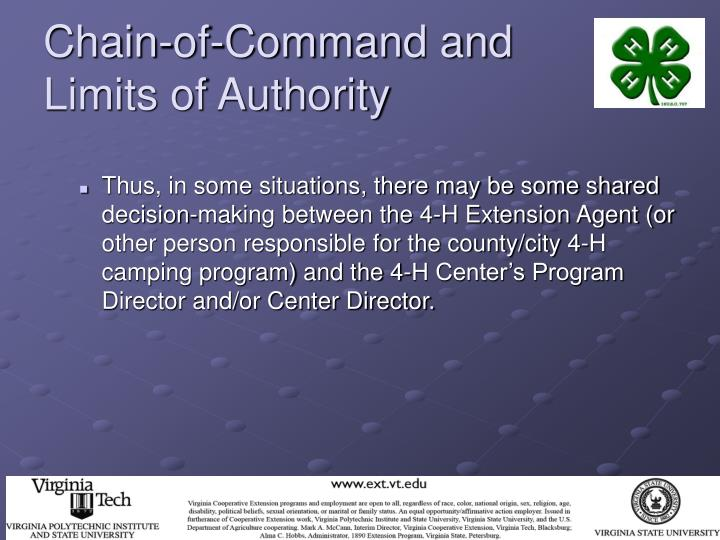 Chain-of-Command and