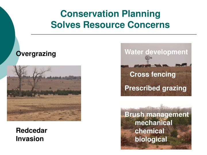 Conservation Planning