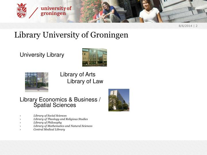 Library University of Groningen