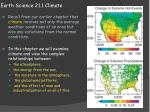 earth science 21 1 climate1