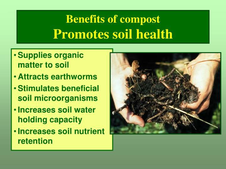 Benefits of compost