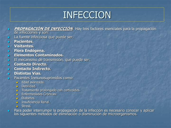 INFECCION