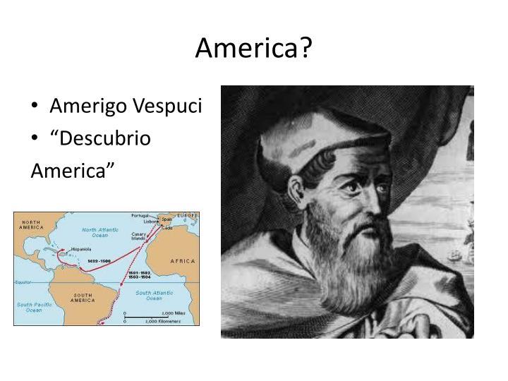 America?