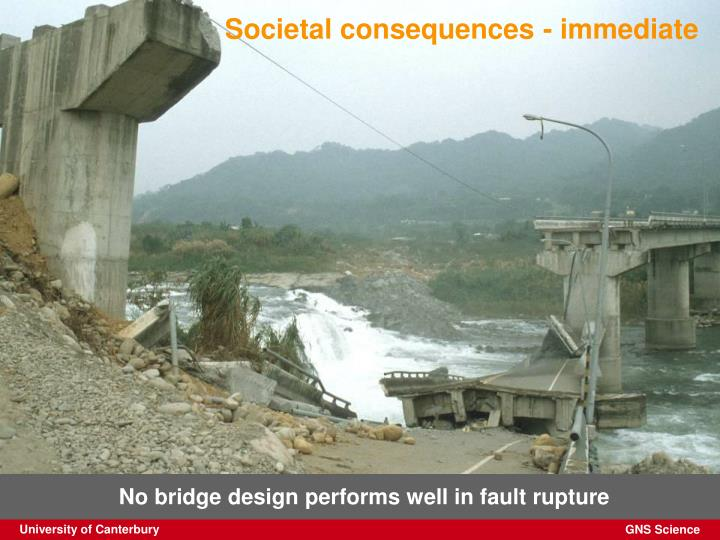 Societal consequences - immediate
