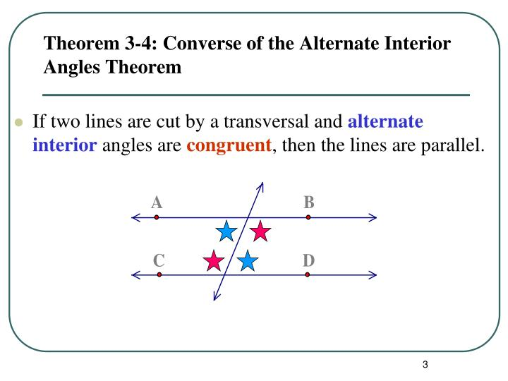 Alternate interior angles theorem pictures to pin on pinterest pinsdaddy for Alternate exterior angles conjecture