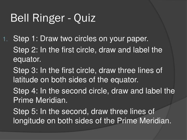 Bell Ringer - Quiz