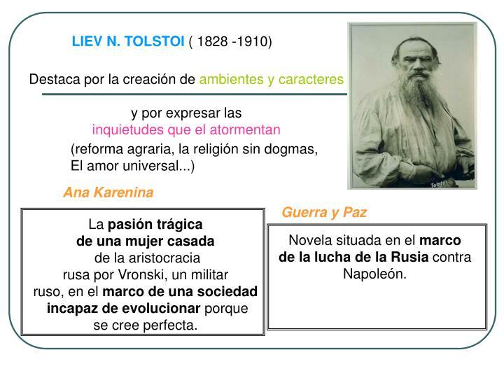 LIEV N. TOLSTOI