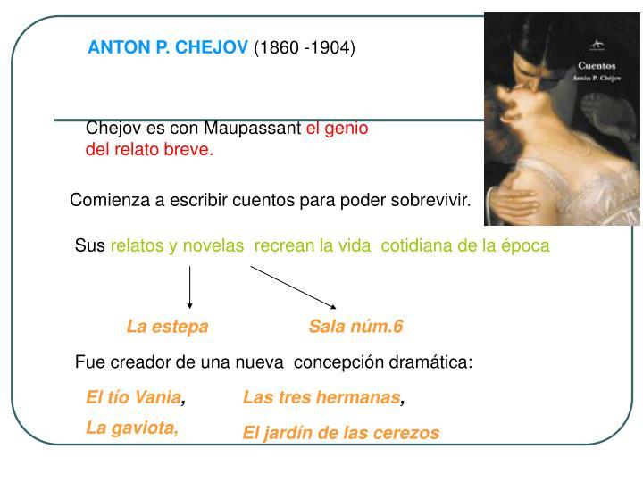 ANTON P. CHEJOV