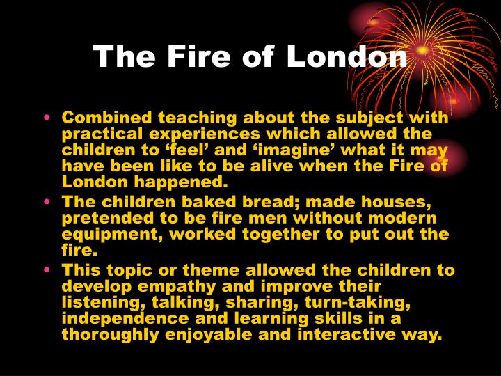The Fire of London