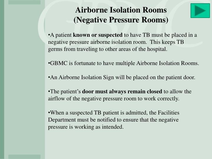 Airborne Isolation Rooms