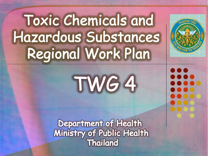 Toxic Chemicals and Hazardous Substances