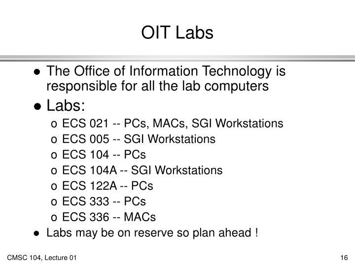 OIT Labs