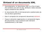 sintassi di un documento xml