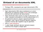 sintassi di un documento xml4