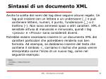 sintassi di un documento xml6