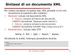 sintassi di un documento xml7