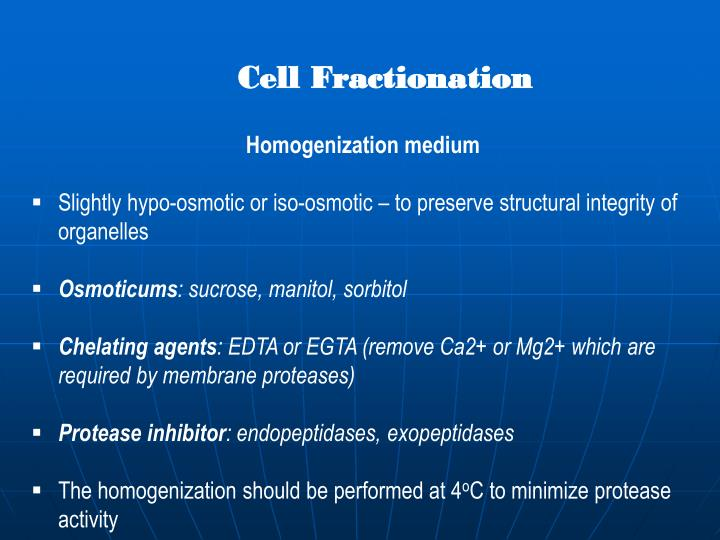 Cell Fractionation