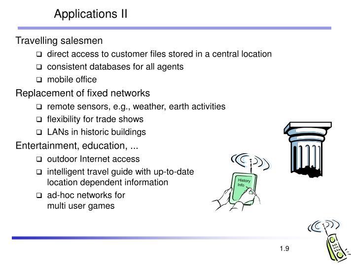 Applications II