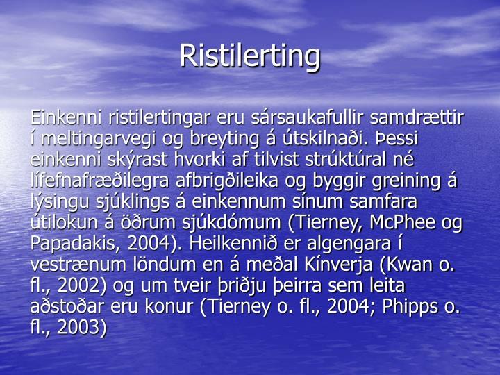 Ristilerting