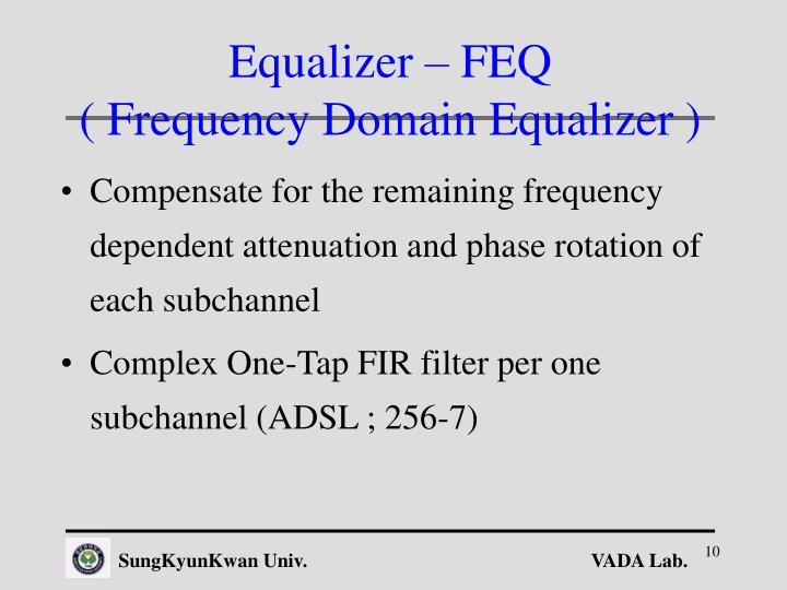 Equalizer – FEQ