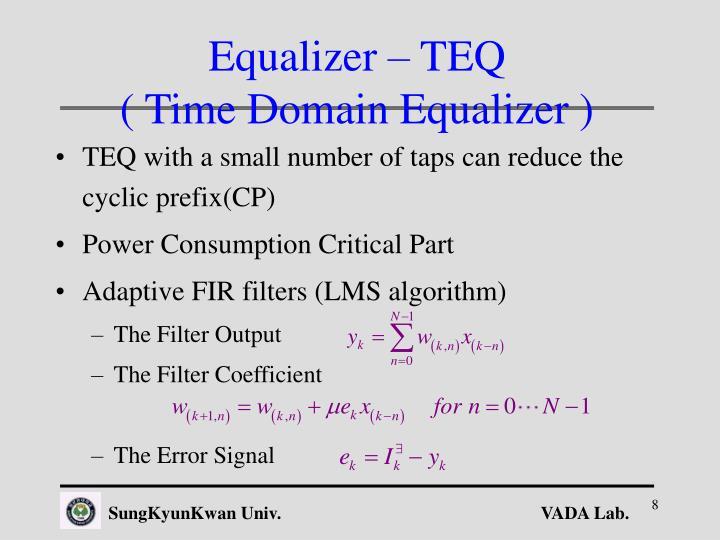 Equalizer – TEQ