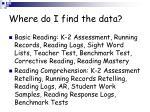 where do i find the data1