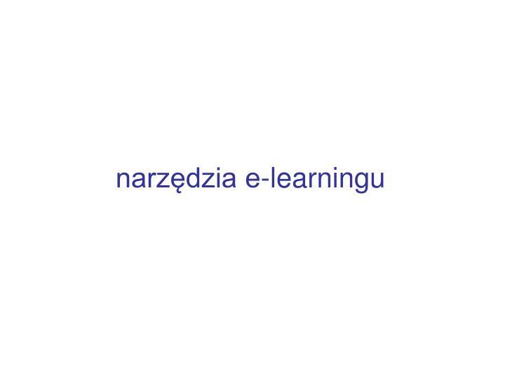 narzędzia e-learningu