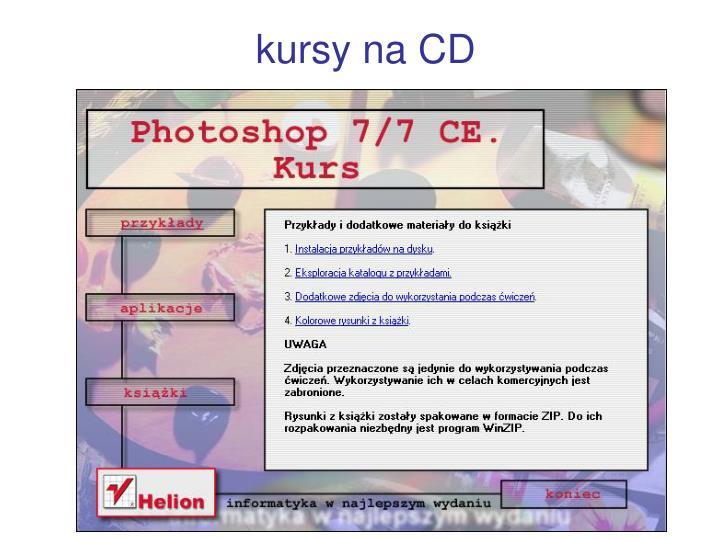 kursy na CD
