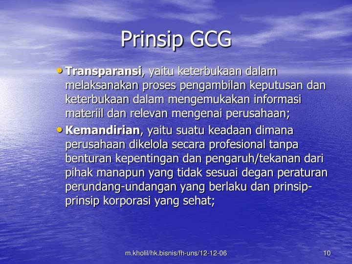 Prinsip