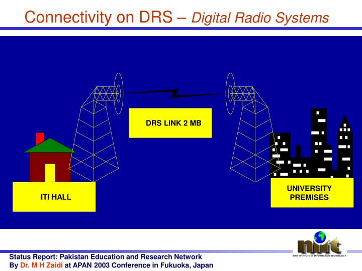 Connectivity on DRS –