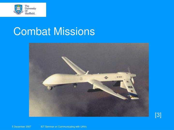 Combat Missions