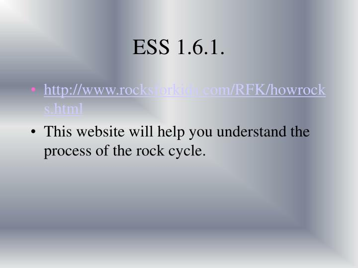 ESS 1.6.1.