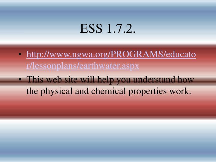 ESS 1.7.2.